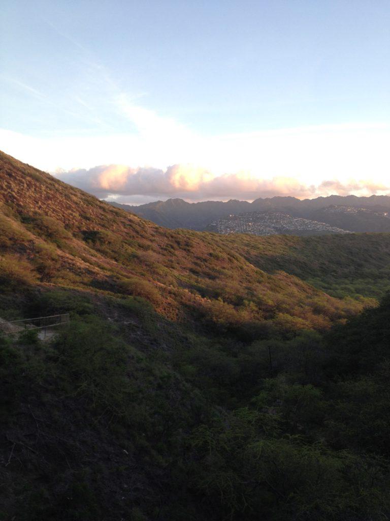 照らされるハワイ