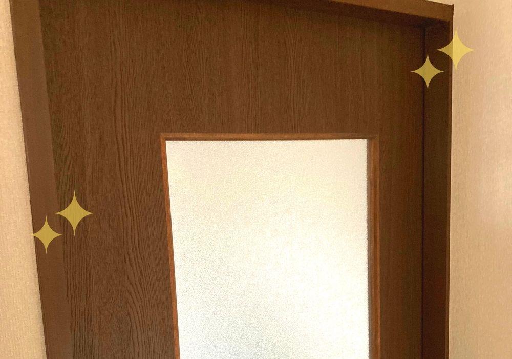 作業部屋のドア