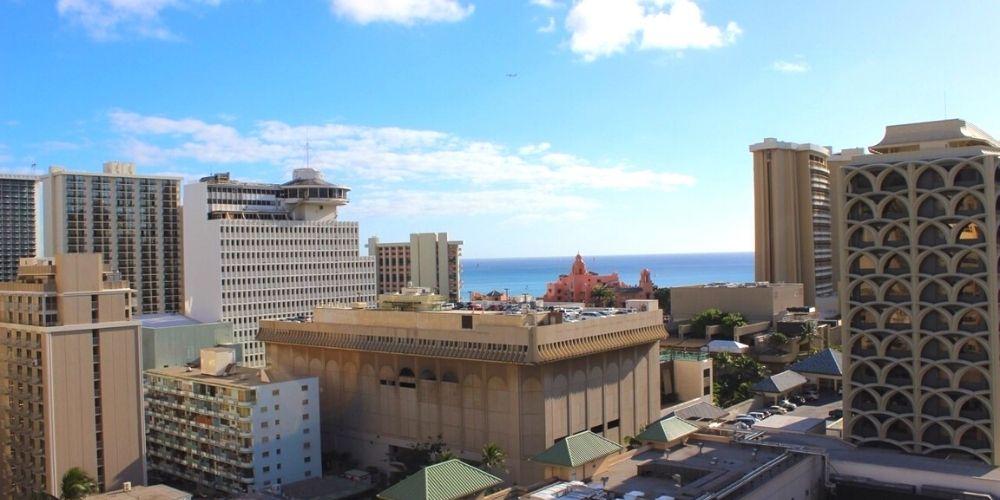 ハワイの街