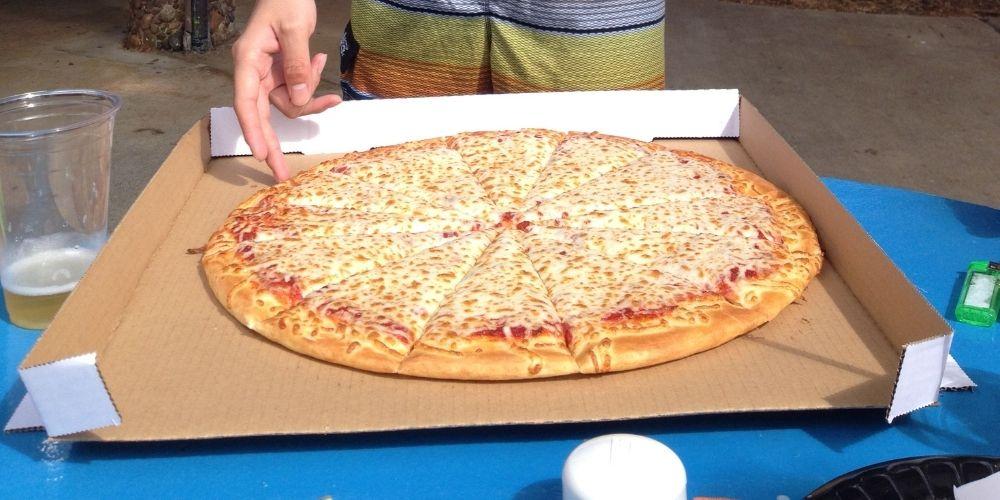 ハワイのピザ