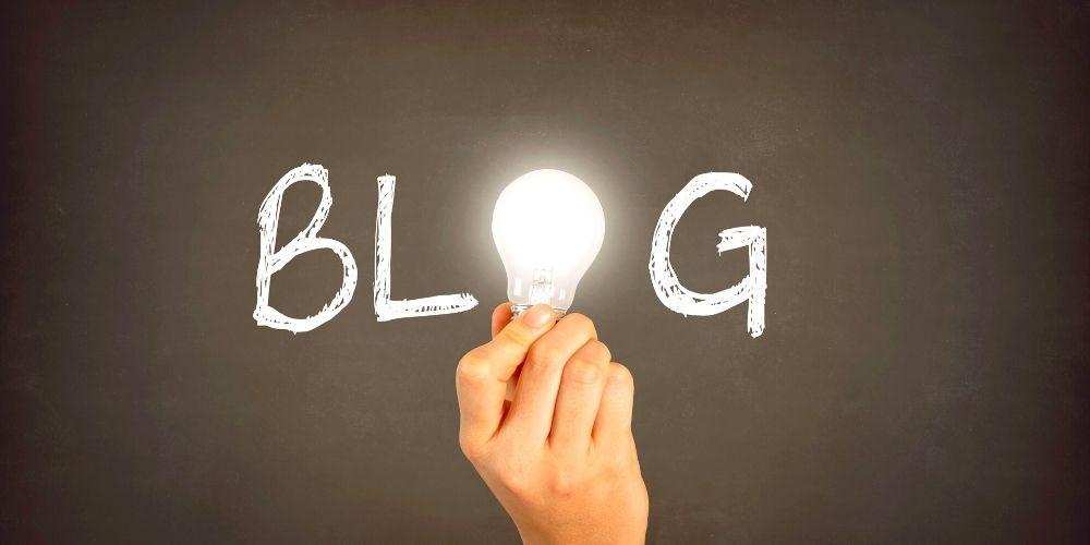ブログと電球