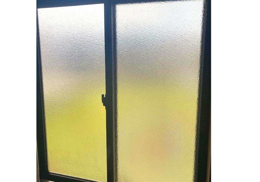 作業部屋の窓