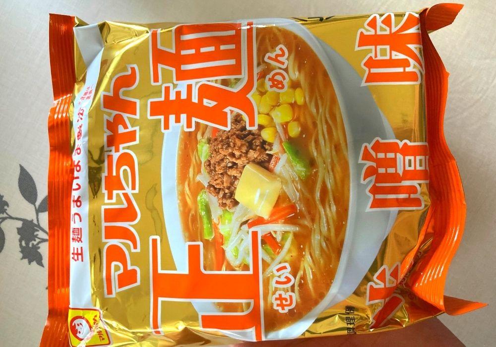 マルちゃん正麺味噌